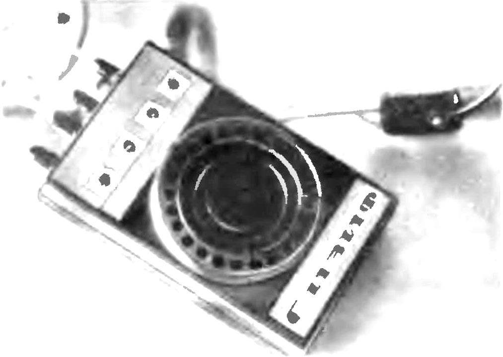 Appearance of the alarm device.