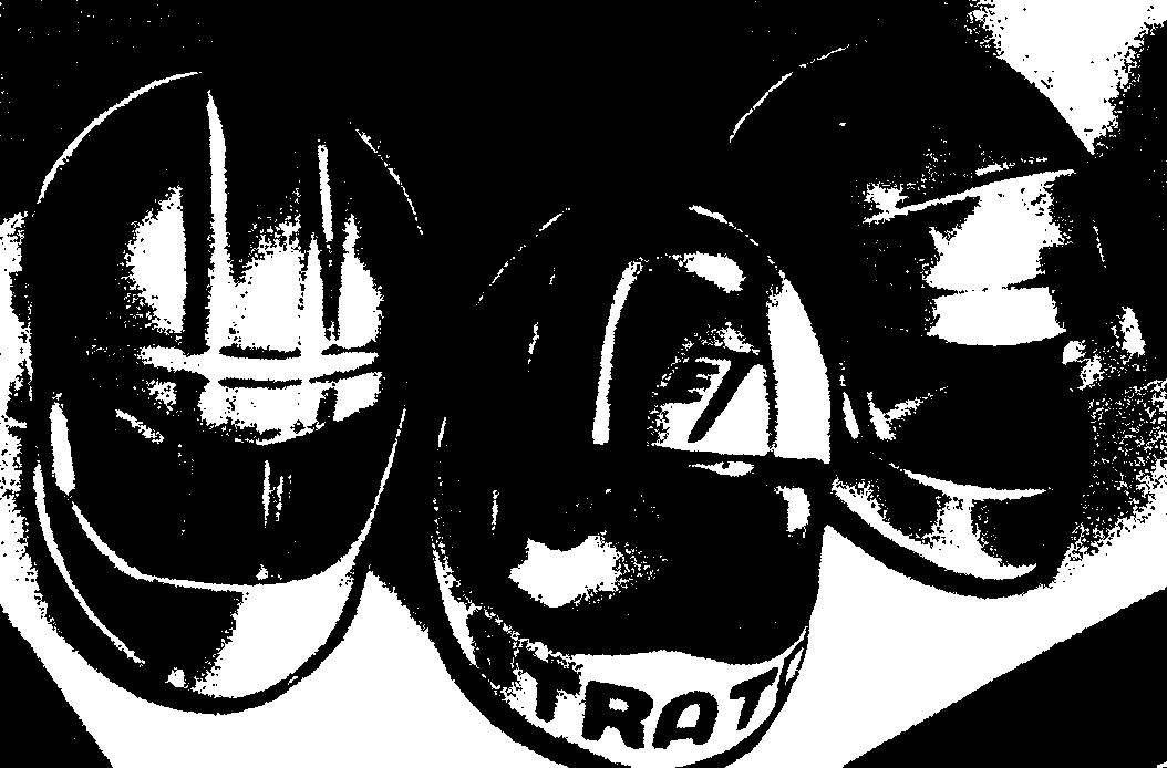 Образцы изготовленных шлемов.