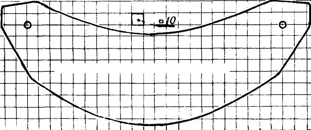 Рис. 8. Шаблон защитного стекла.