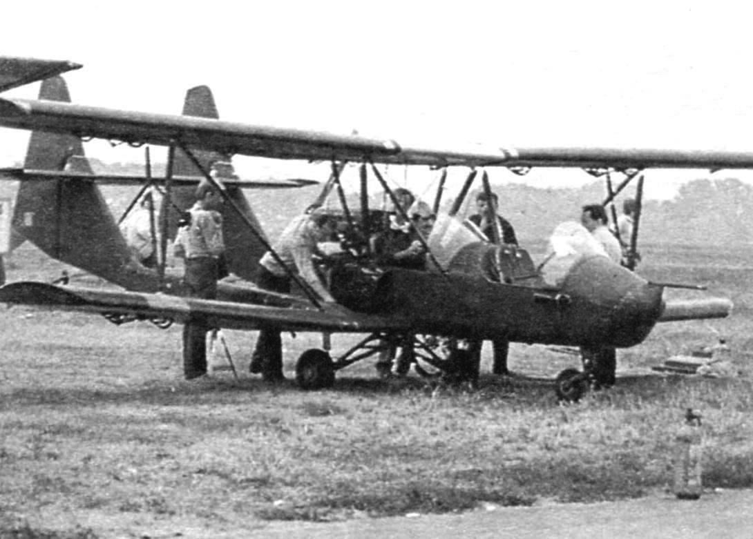 Двухместный самолёт «Тройка» Б. Хобутовского (Санкт-Петербург)