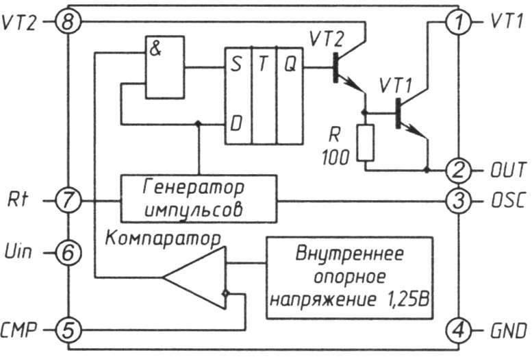 USВ на микросхеме МС34063А