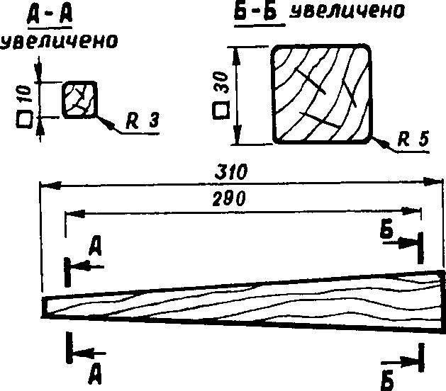 Рис.4. Оправка для выклейки трубчатой балки корпуса (толщина стенки корпуса около 1 мм).