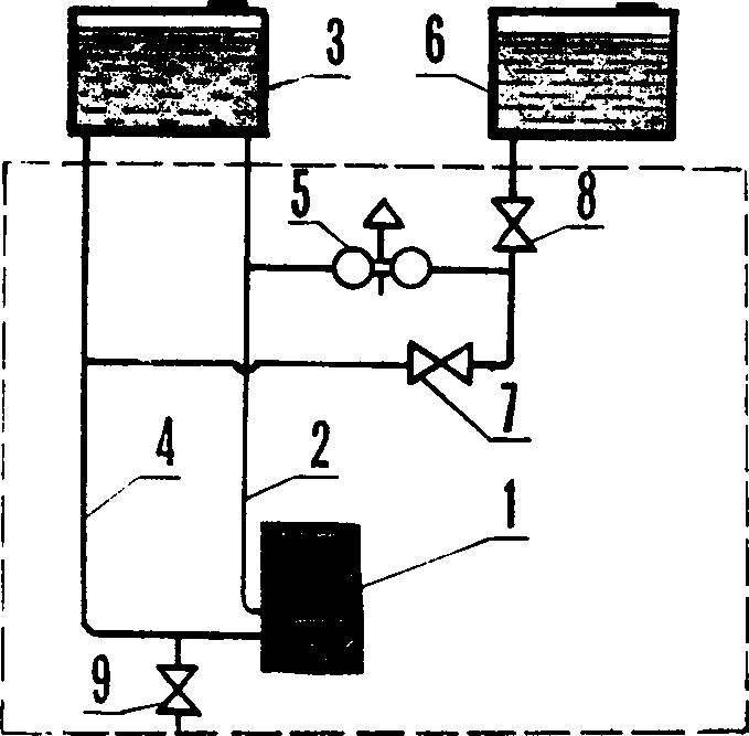 Рис. 5. Схема водоподготовки.