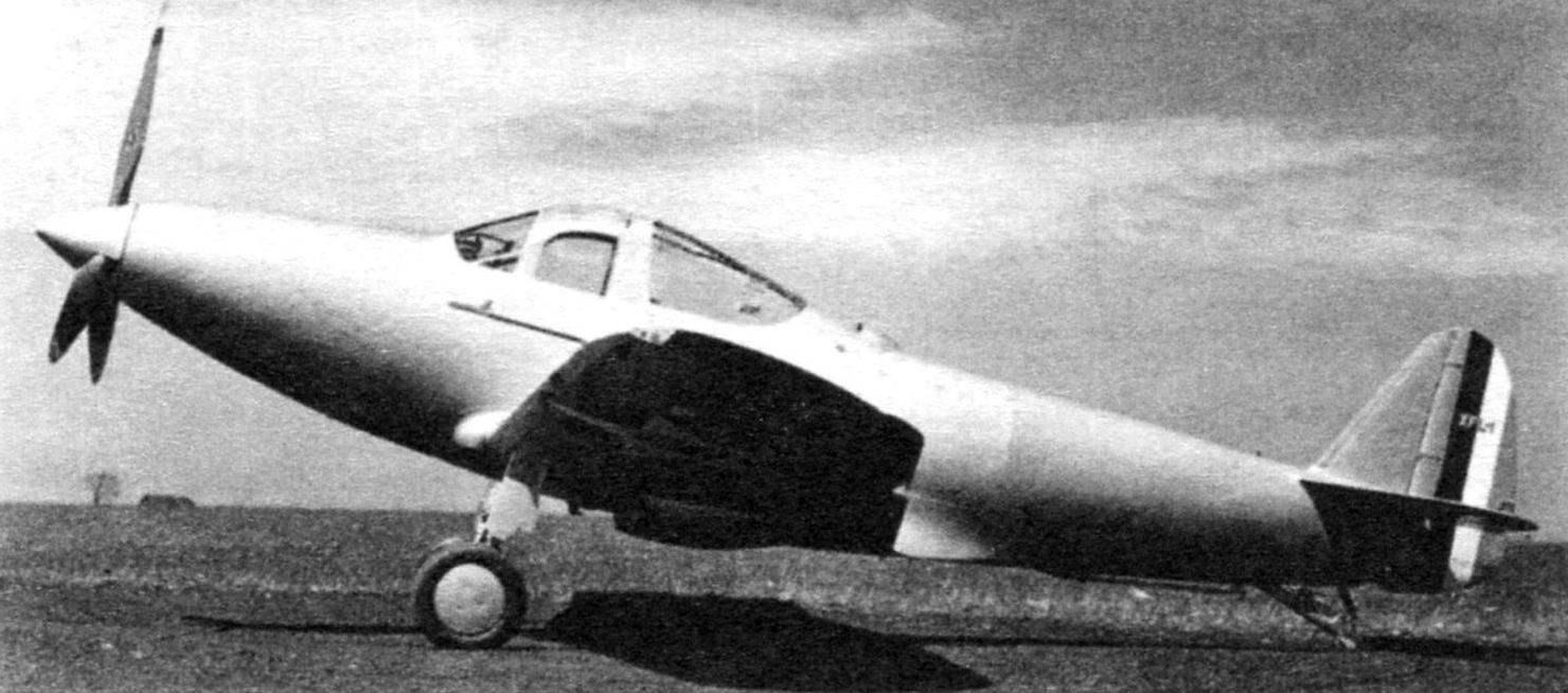 Опытный образец палубного истребителя XFL-1