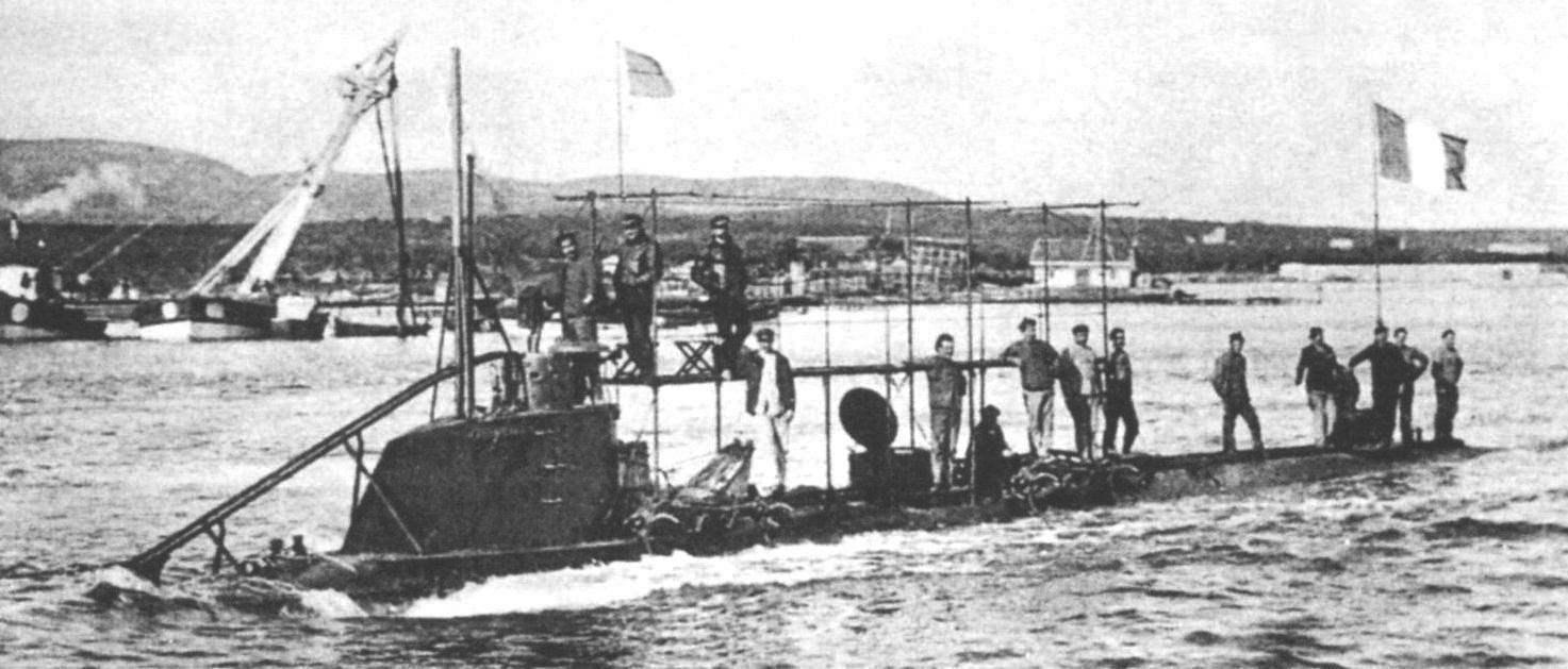 Подводная лодка «Корриган» инженера Мога, Франция, 1902 г.