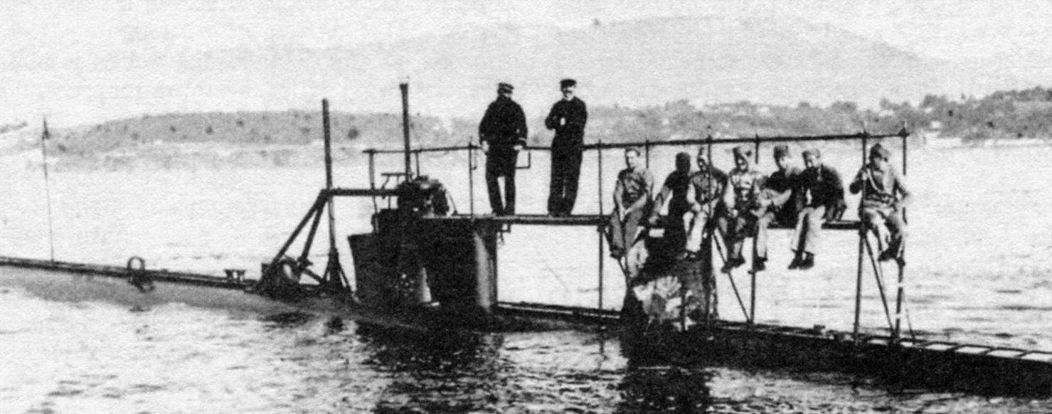 Подводная лодка «Гюстав Зедэ», Франция, 1892 г.