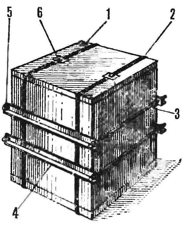 Fig. 1. The appearance of the container
