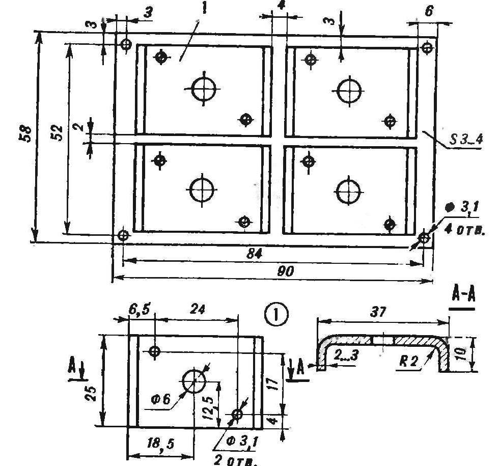 Рис. 6. Радиаторы для диодов