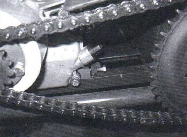 Натяжное устройство цепи