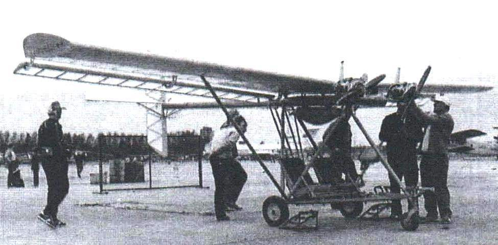 Double the twin-engine plane