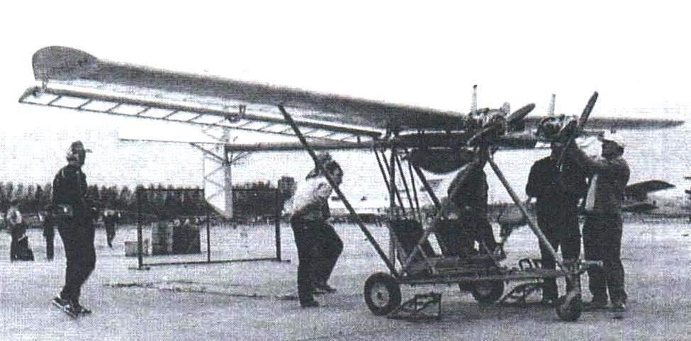 Двухместный двухмоторный самолёт «Махаон»