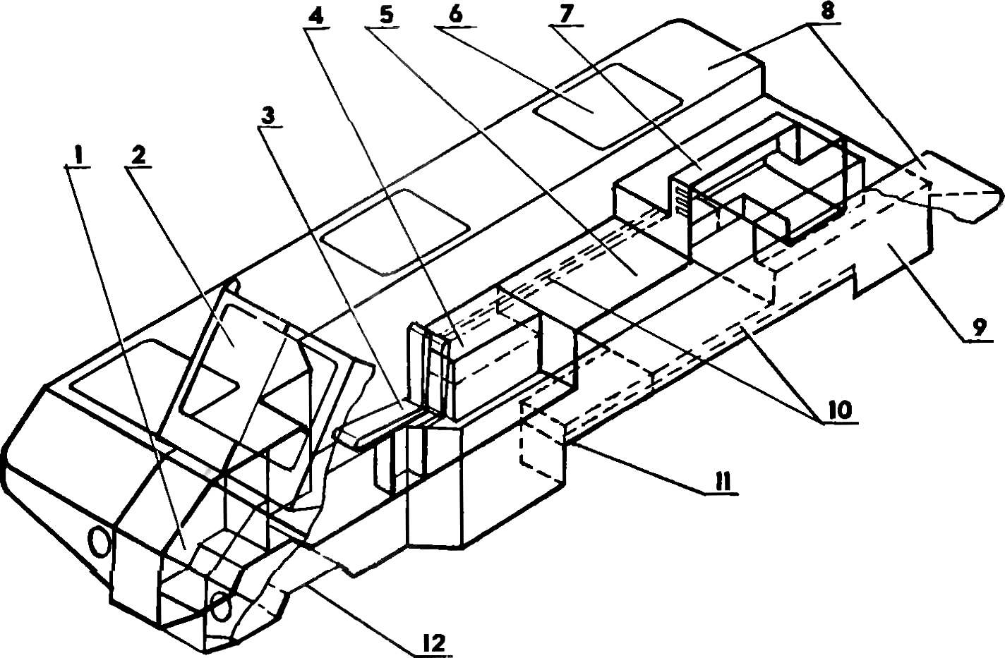 Fig. 4. The body of the Rover.
