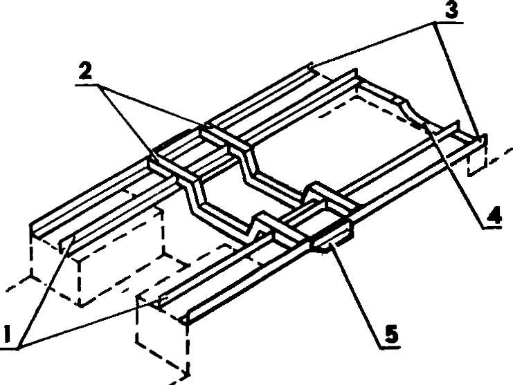 Fig. 5. Frame under the engine and transmission.