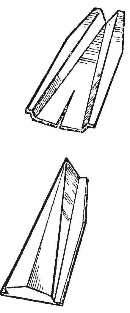 Р и с. 8. Последовательность формирования корпуса