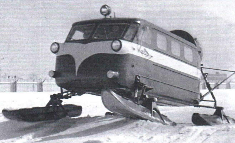 Snowmobile Ka-30