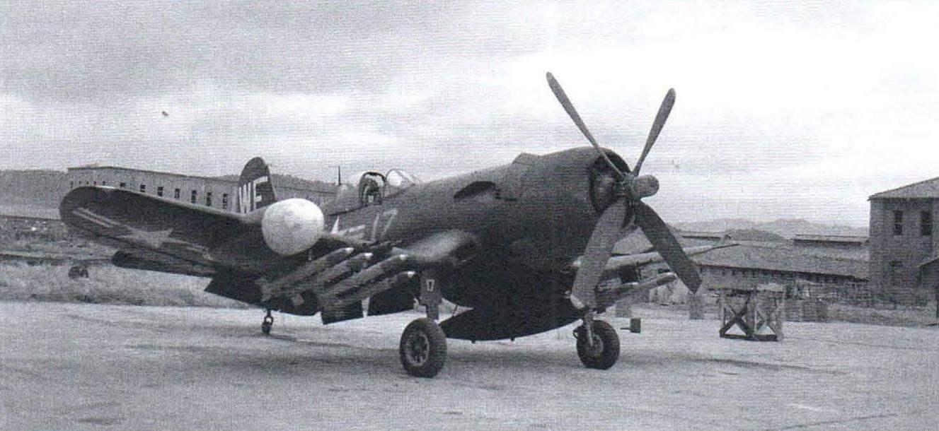 Ночной истребитель F4U-5N