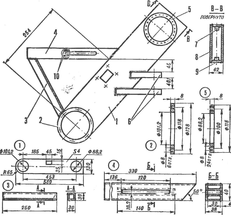 Fig. 3. Frame motores