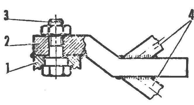 Рис. 5. Сборка руля
