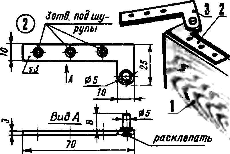 Fig. 4. Homemade door canopy.