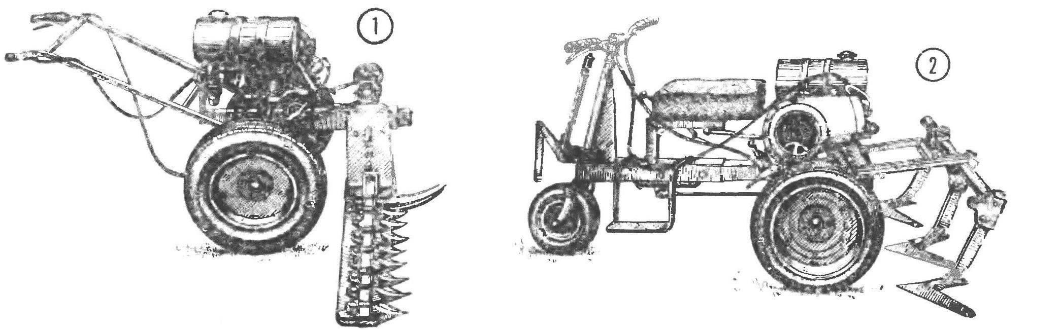 Рис 1.Универсальный мотоблок МУСМ-1