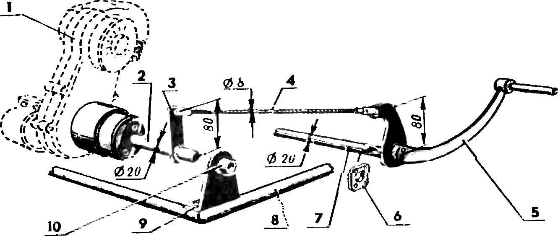 Схема устройства для запуска