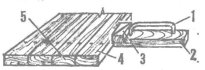 Рис. 6. Уплотнение настила
