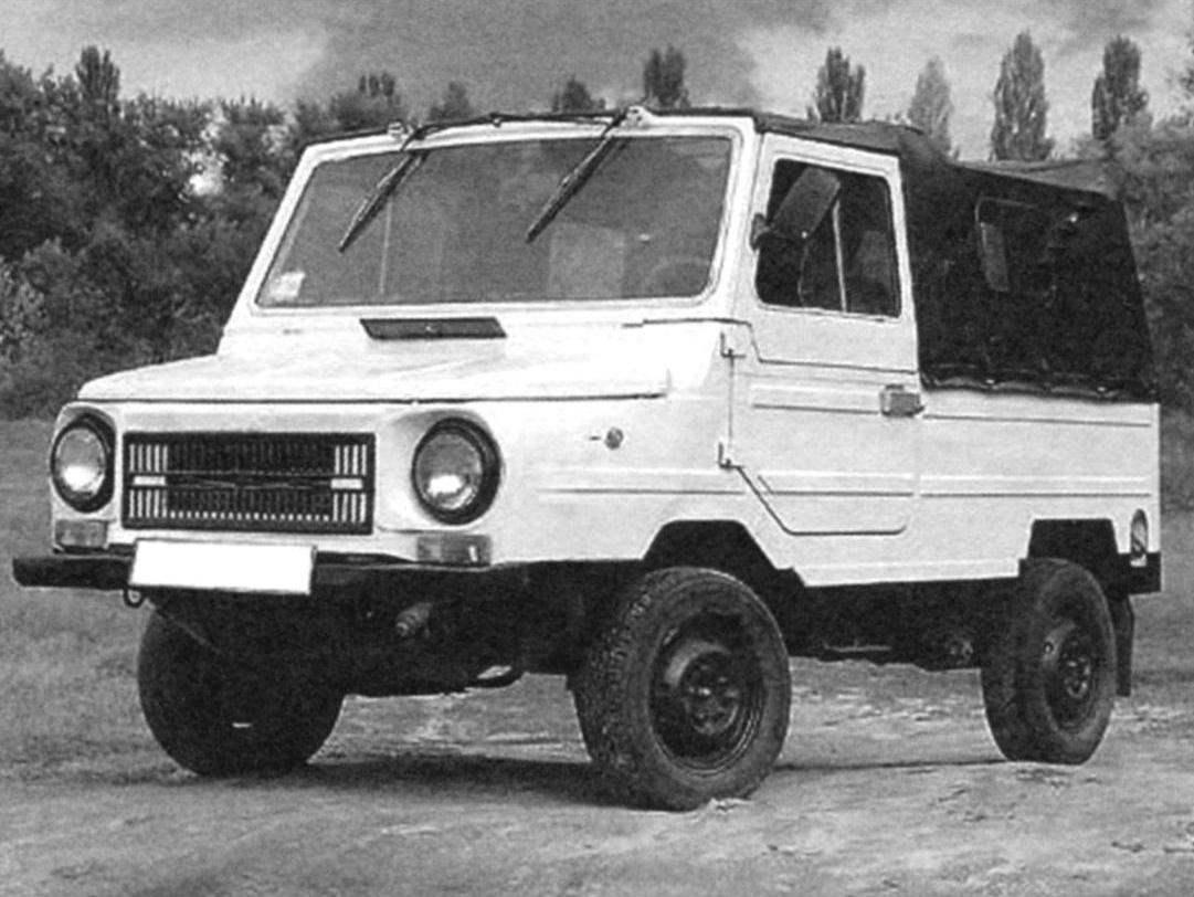 ЛyA3-969M - гражданская модификация ТПК