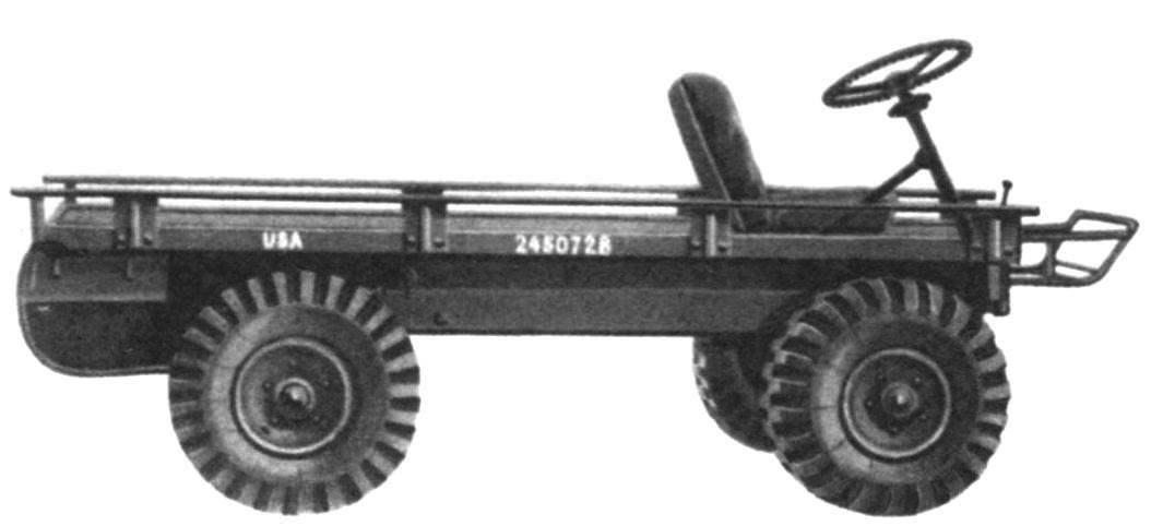 В 1956 году американская фирма Willis разработала компактный армейский вездеход, получивший название М274 Mechanical Mule (с англ. - механический мул)