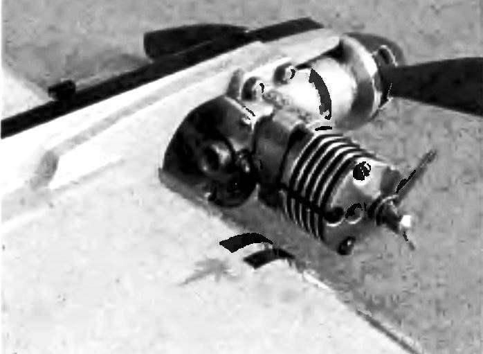 Носовая часть фюзеляжа с доработанным двигателем.