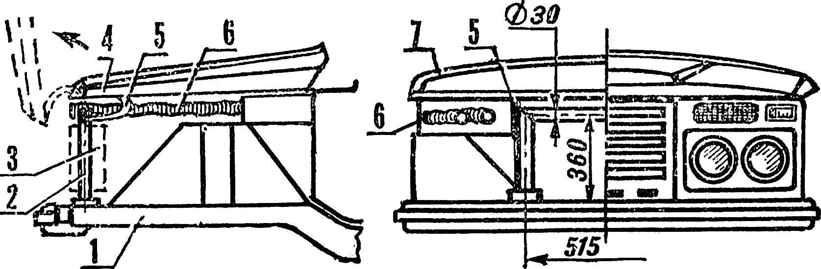 Рис . 4. Передняя часть кузова.