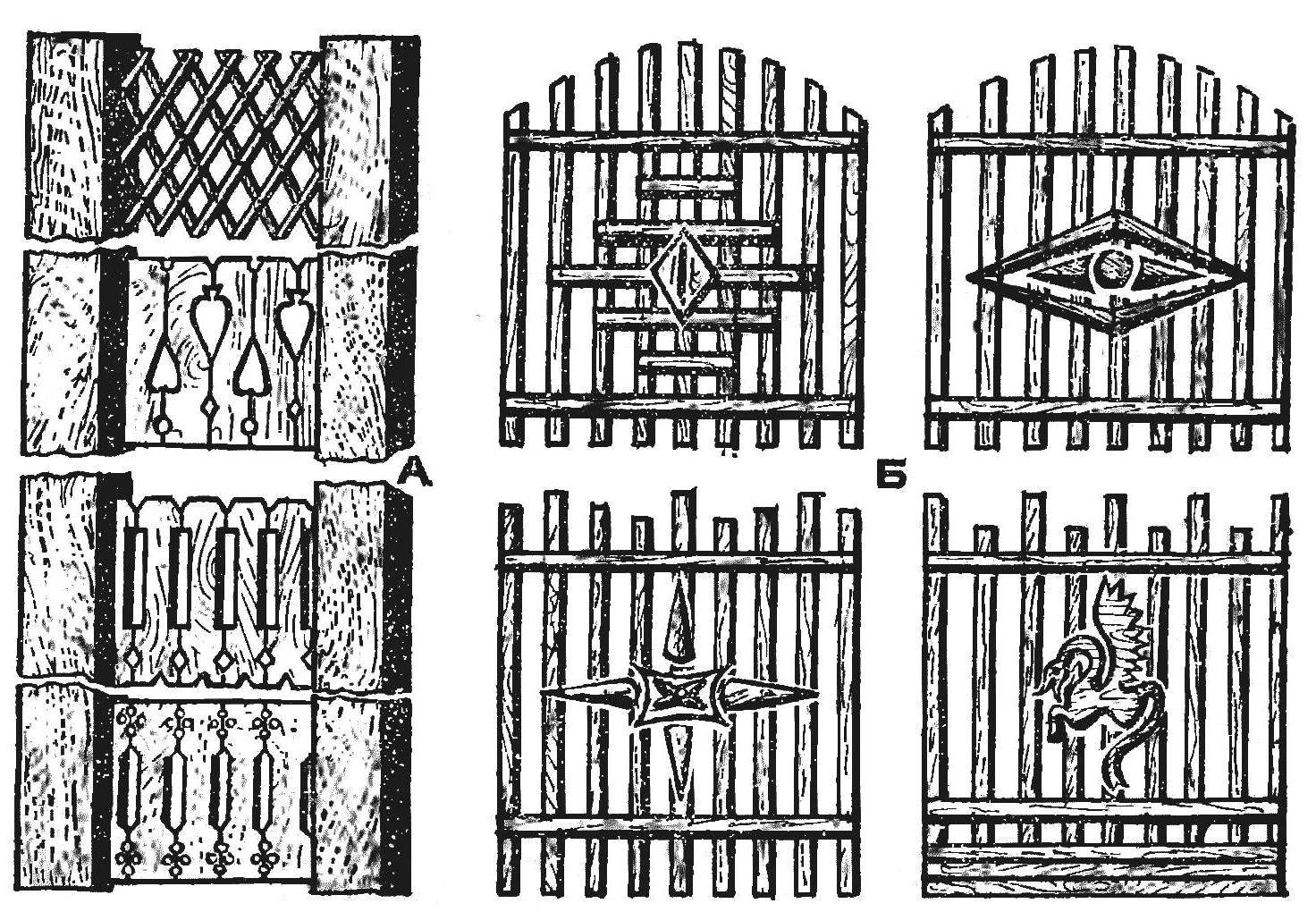 Fig. 16. Decoration fencing