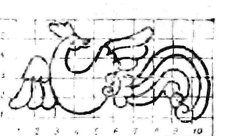 Рис. 3. Перенос рисунка с уменьшением или увеличением — по клеткам