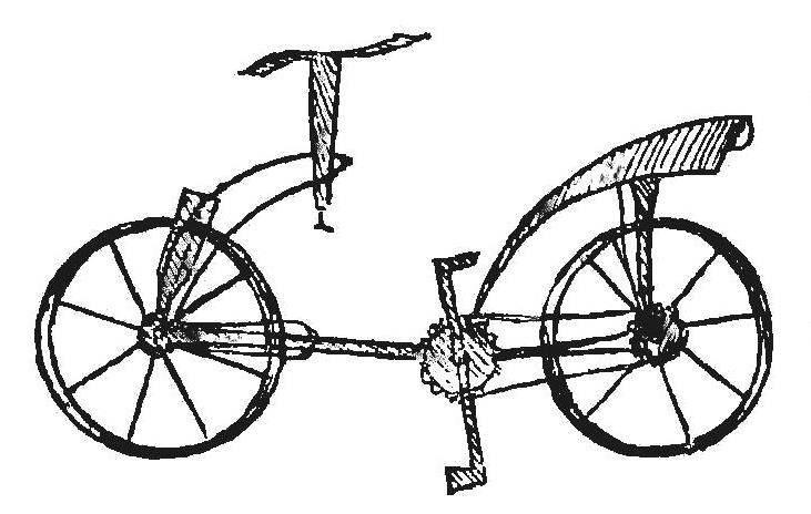Рис1. Трудно поверить, что это изображение велосипеда сделано почти 500 лет назад.