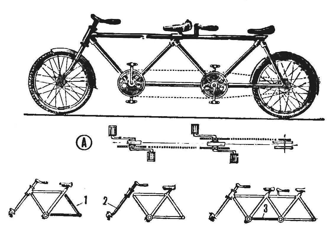Сборка велосипеда своими руками 44