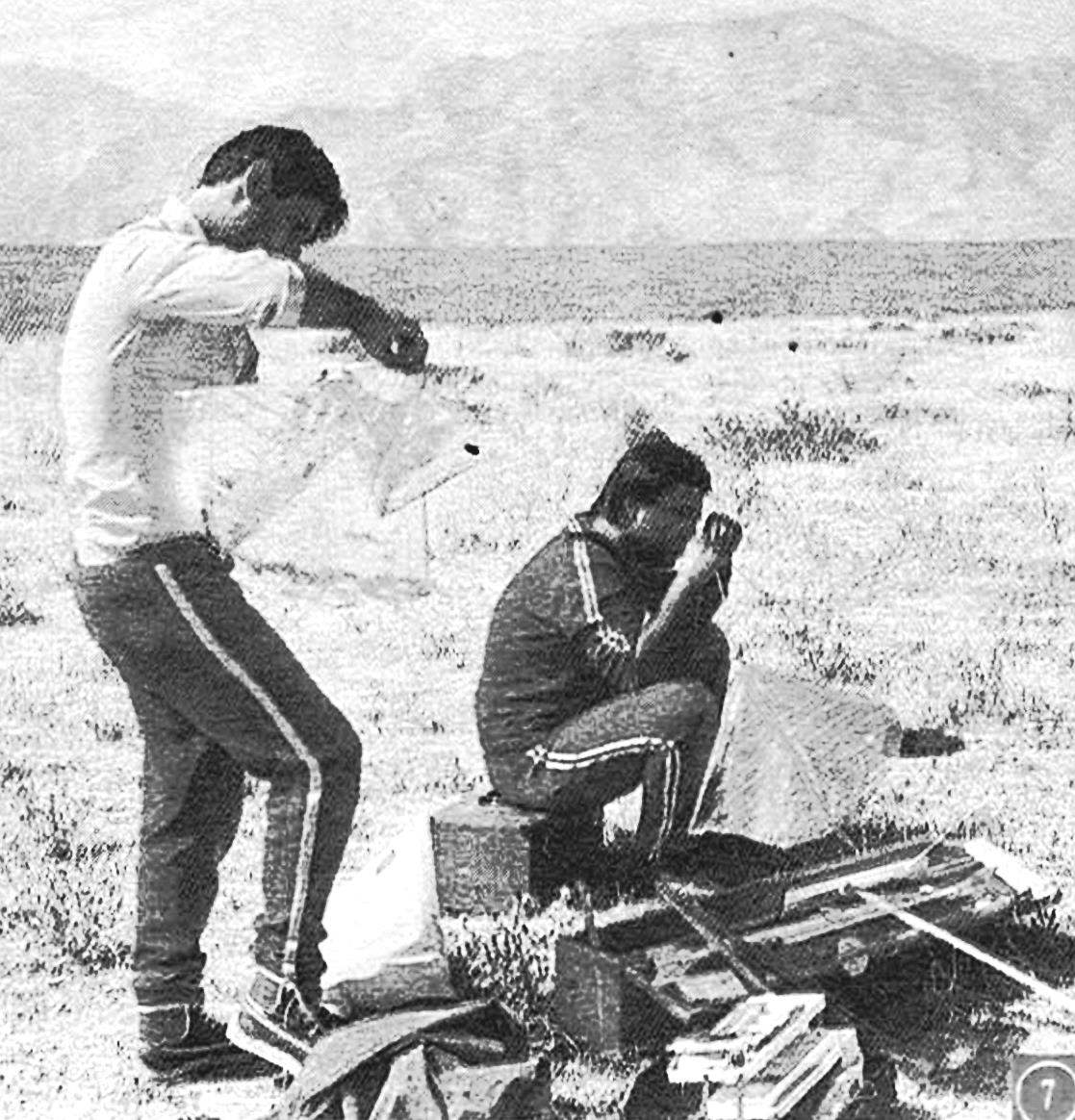К стартам ракетопланов готовятся спортсмены из Азербайджана.