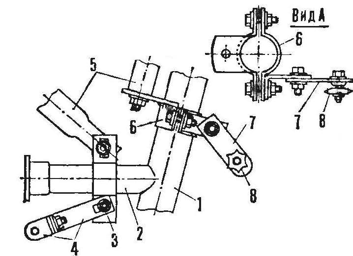 R and p. 4. Motor mount