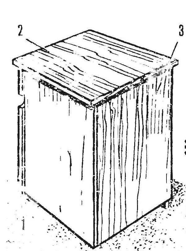 Рис. 1. Тумбочка в закрытом виде