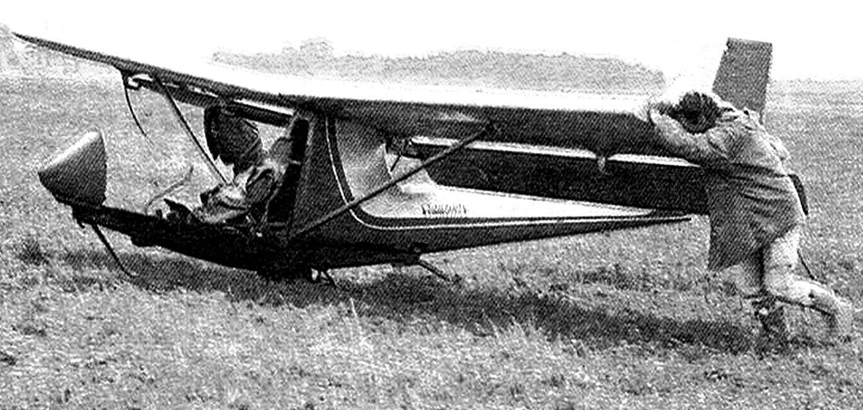 Лучший планер первенства БРО-23 «Страздас» конструкции Б. Ошкиниса.