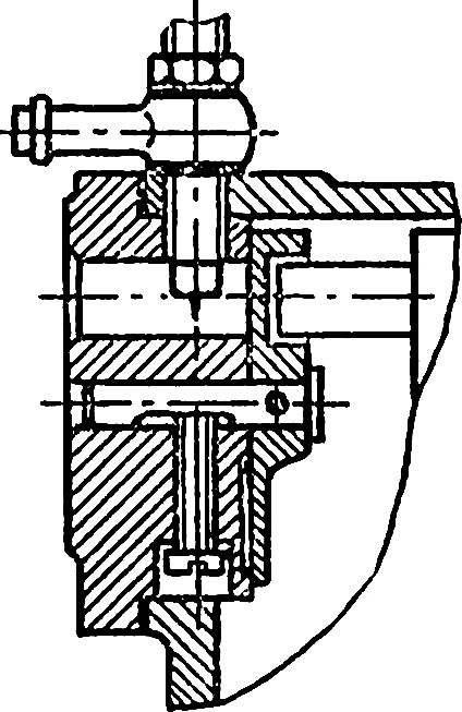 Рис. 3. Предельно укороченная по длине стенка, предусматривающая использование доработанного серийного жиклера.