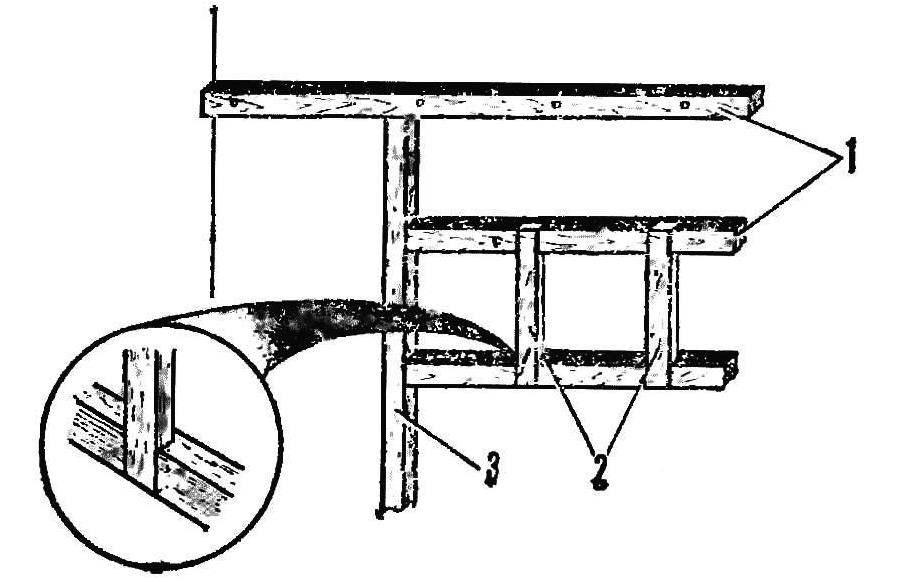 Р и с. 3. Задняя рама