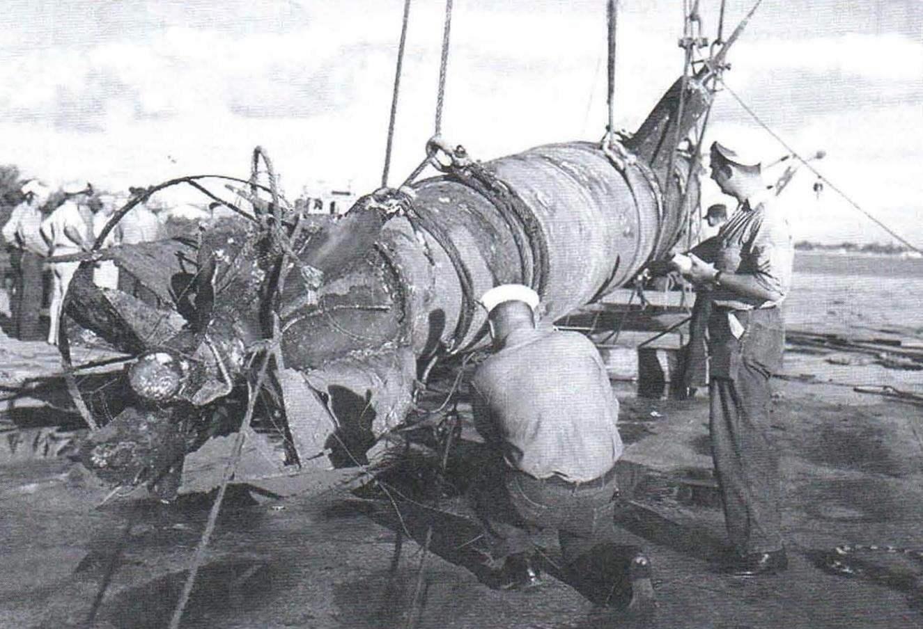 В 1961 г. американцы подняли лодку (Тип А), затонувшую в декабре 1941 г. в канале Пёрл-Харбора. Люки лодки открыты изнутри, ряд публикаций сообщает, что механик лодки Сасаки Наохару спасся и попал в плен