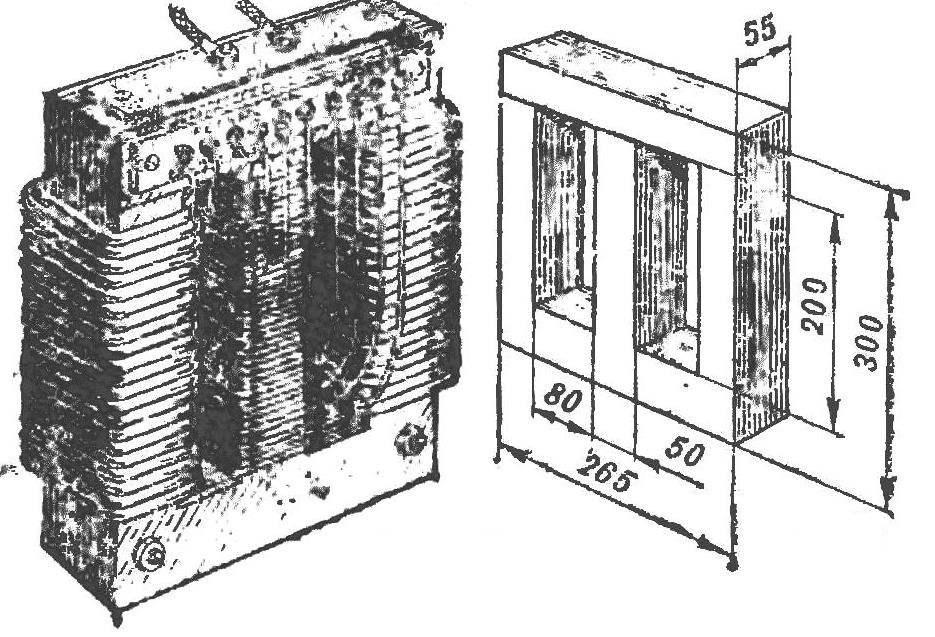 Внешний вид трансформатора