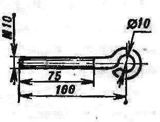 Fig. 6. The thrust bolt handle.