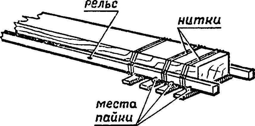 Железнодорожное полотно своими руками 94