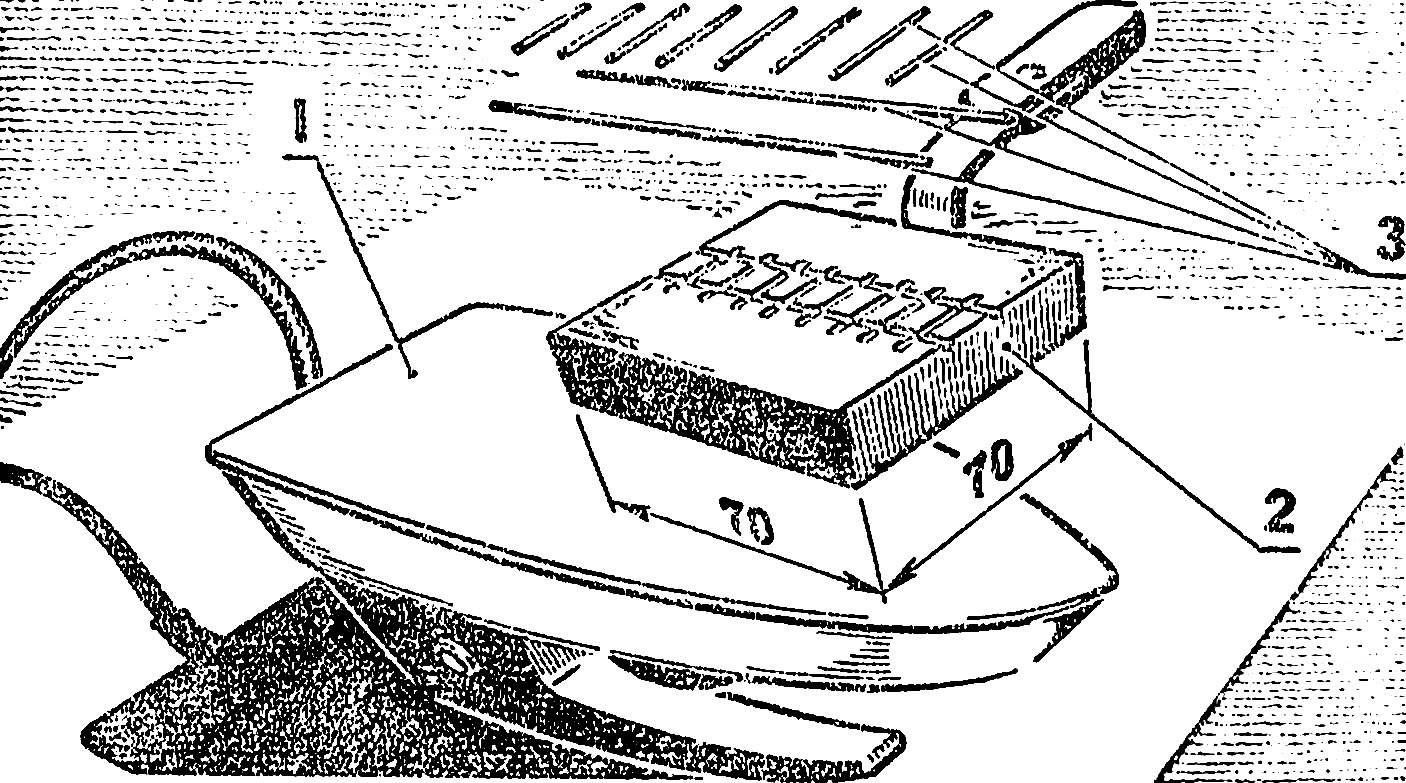 Рис. 3. Устройство для пайки трапов.