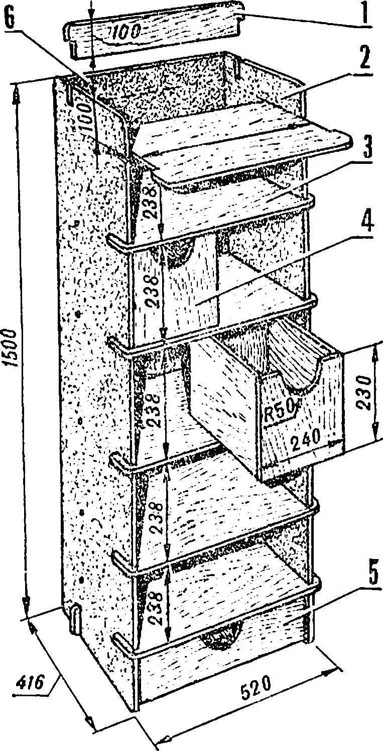 Fig. 4. Rack.