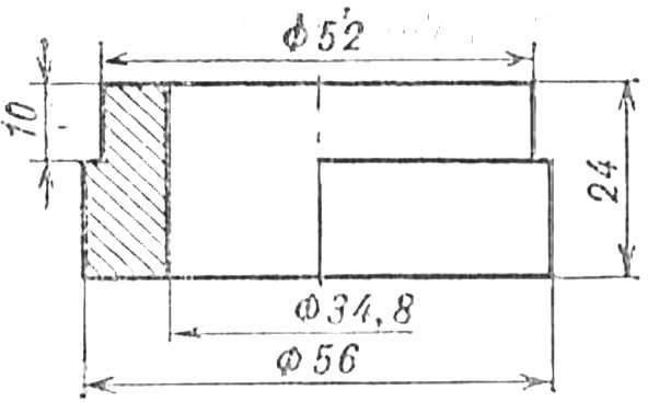 Fig. 12. Bearing bushing, driven sprocket.