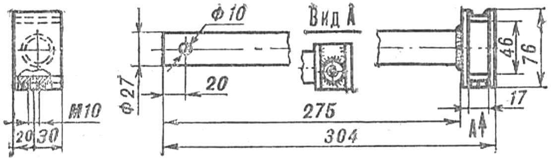 Fig. 17. The headstock for more agricultural tools (improvised version).