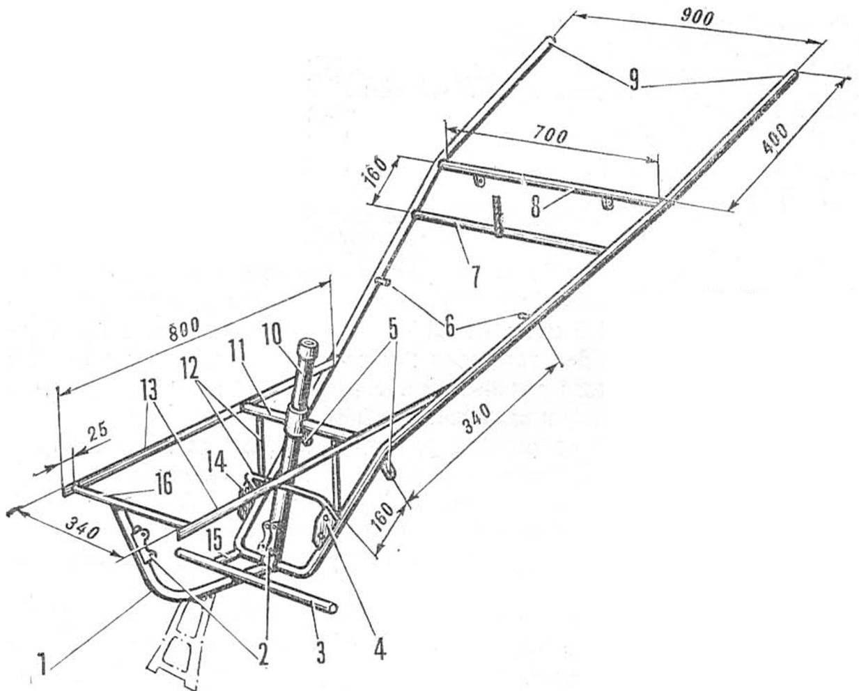 Fig. 2. The frame design