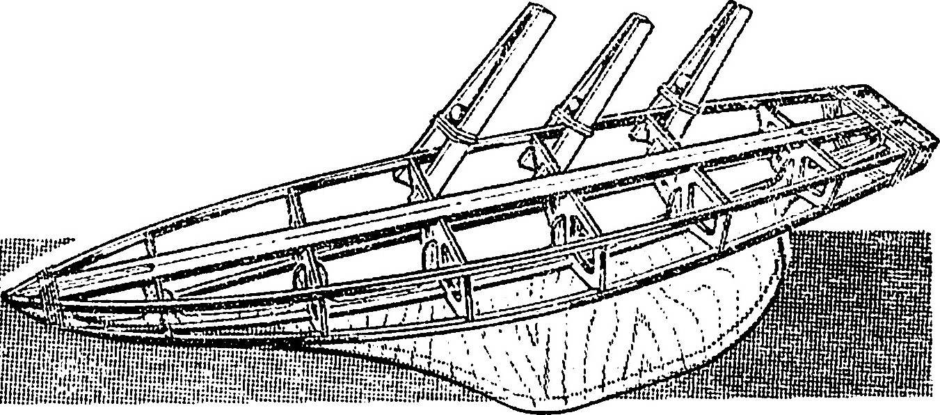 Fig. 6. Assembling the frame of the case.